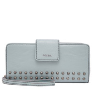 Fossil Unisex Porte-Monnaie Zippé Gm Madison Marron - One size